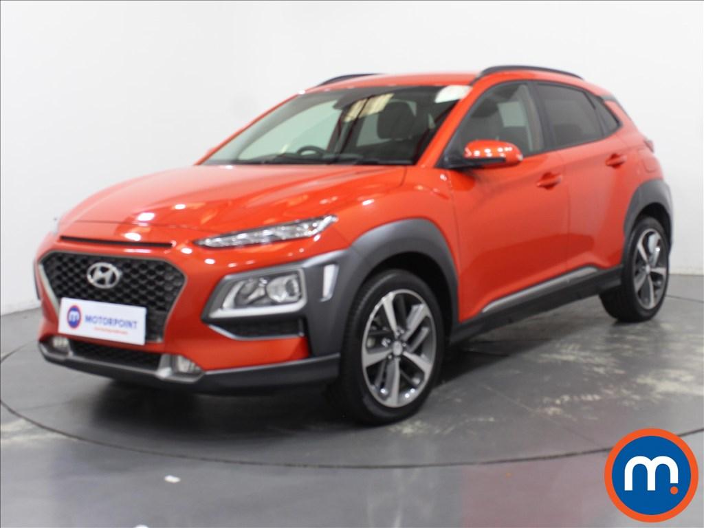Hyundai Kona Premium - Stock Number 1102925 Passenger side front corner