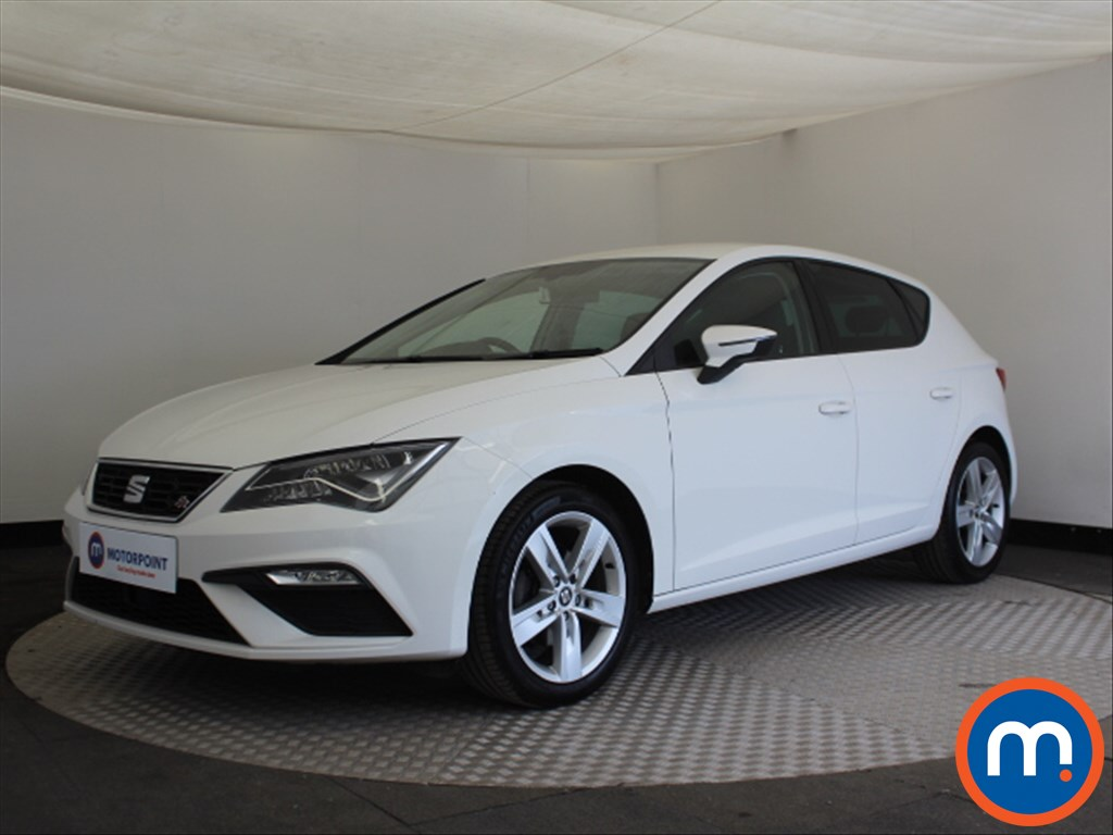 Seat Leon FR Technology - Stock Number 1100054 Passenger side front corner