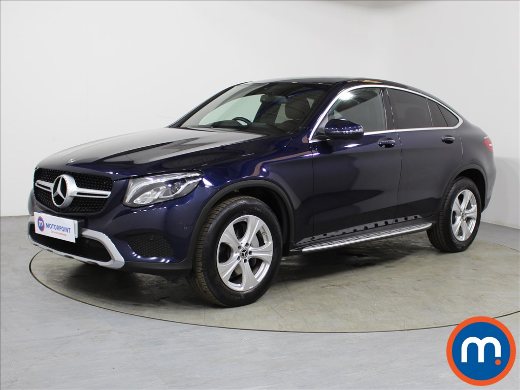 Mercedes-Benz Glc Coupe Sport - Stock Number 1099713 Passenger side front corner