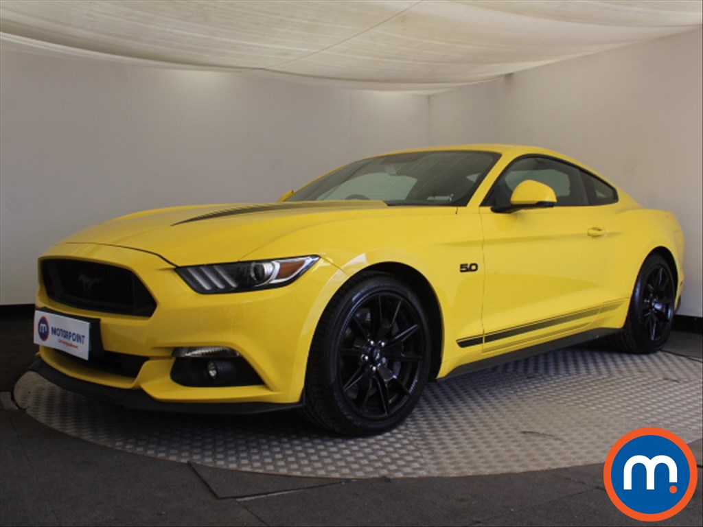 Ford Mustang GT Shadow Edition - Stock Number 1094270 Passenger side front corner