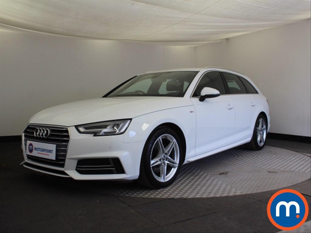 Audi A4 S Line - Stock Number 1100544 Passenger side front corner