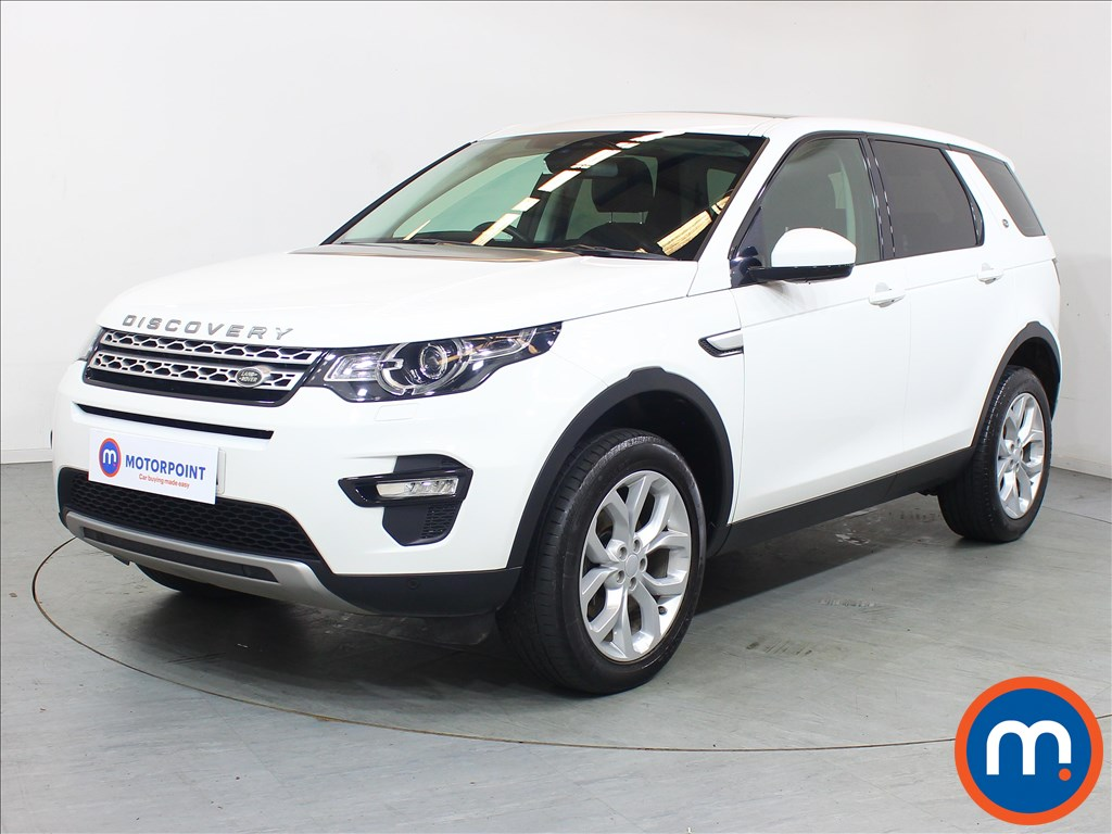 Land Rover Discovery Sport HSE - Stock Number 1096833 Passenger side front corner