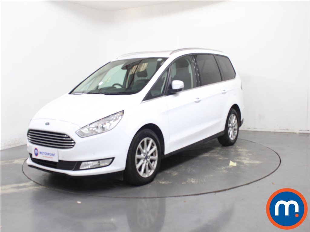 Ford Galaxy 2.0 EcoBlue 150 Titanium X 5dr - Stock Number 1093648 Passenger side front corner