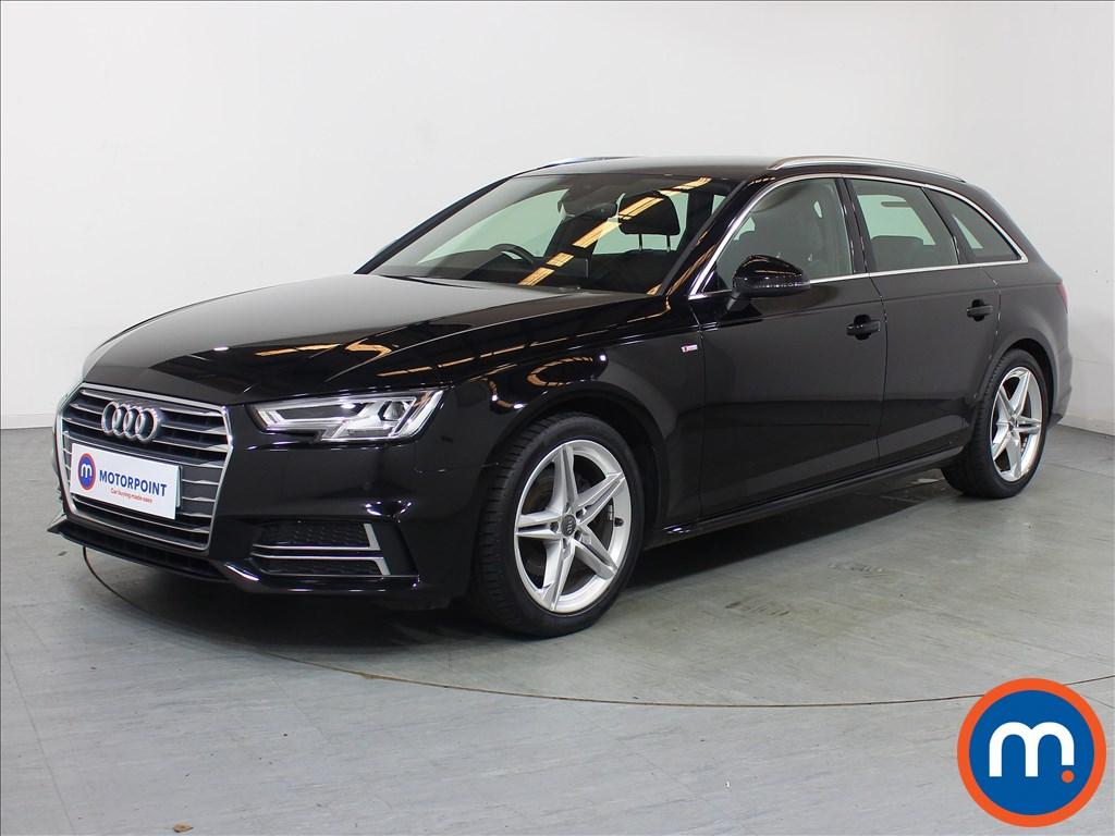 Audi A4 S Line - Stock Number 1098699 Passenger side front corner