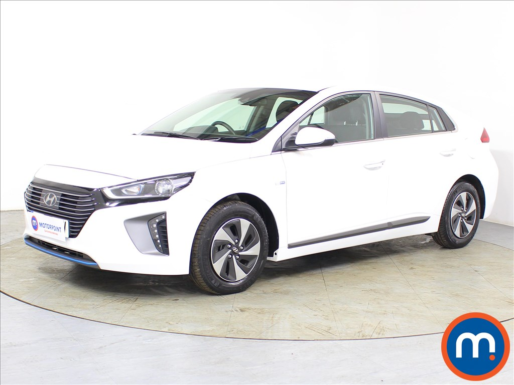 Hyundai Ioniq Premium - Stock Number 1088000 Passenger side front corner