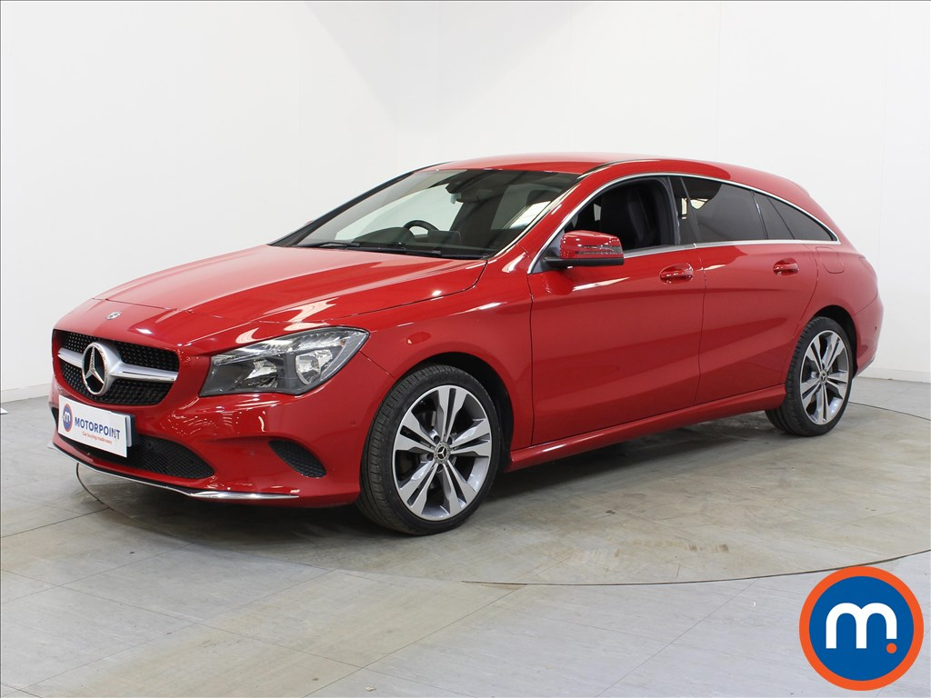Mercedes-Benz Cla Class Sport - Stock Number 1102629 Passenger side front corner