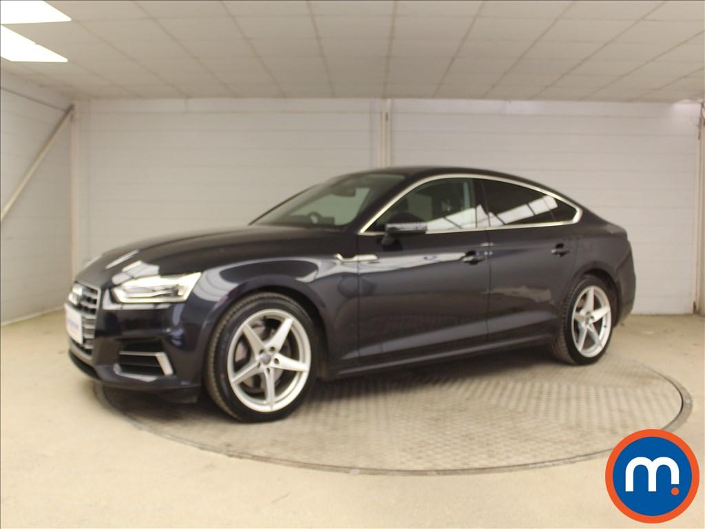 Audi A5 Sport - Stock Number 1103491 Passenger side front corner