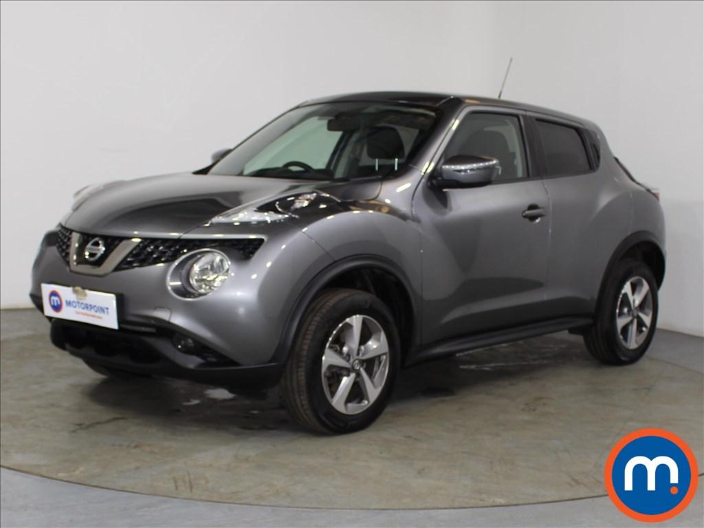 Nissan Juke Acenta - Stock Number 1098241 Passenger side front corner