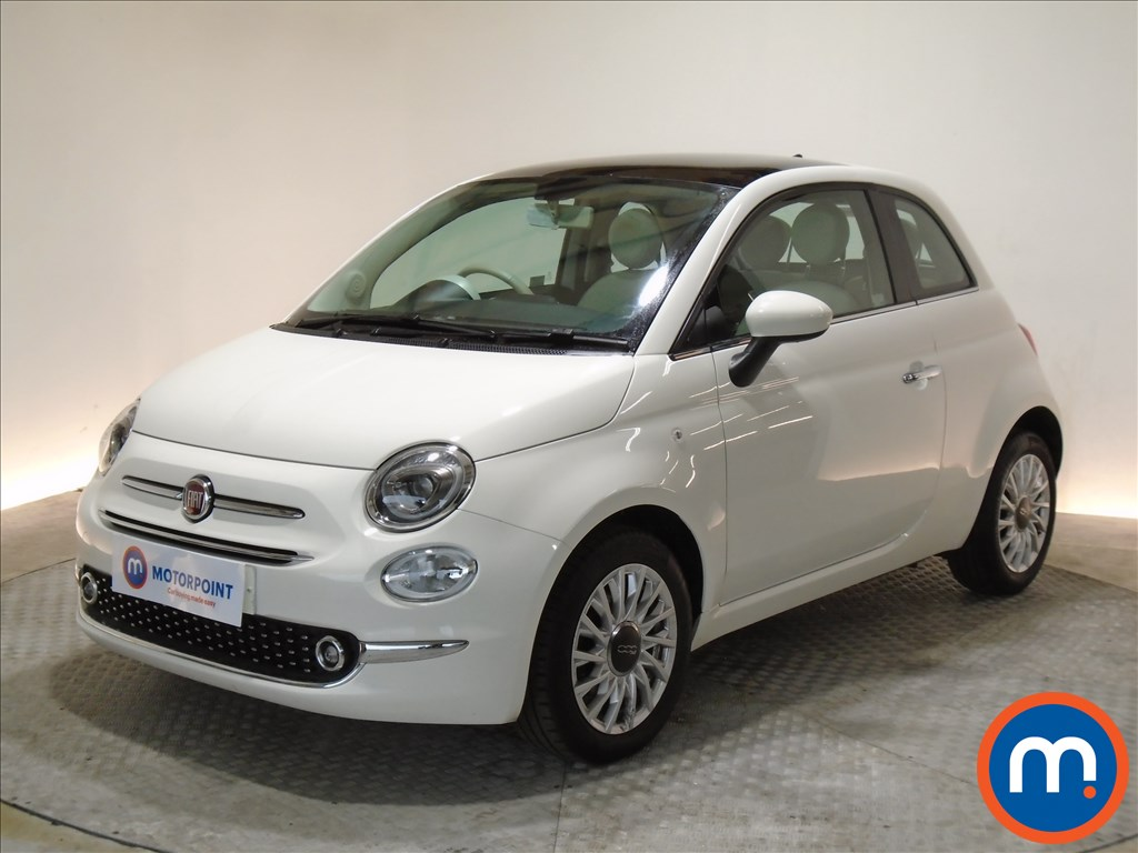 Fiat 500 Lounge - Stock Number 1089203 Passenger side front corner