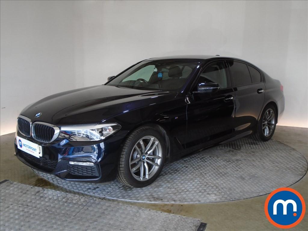 BMW 5 Series M Sport - Stock Number 1073848 Passenger side front corner