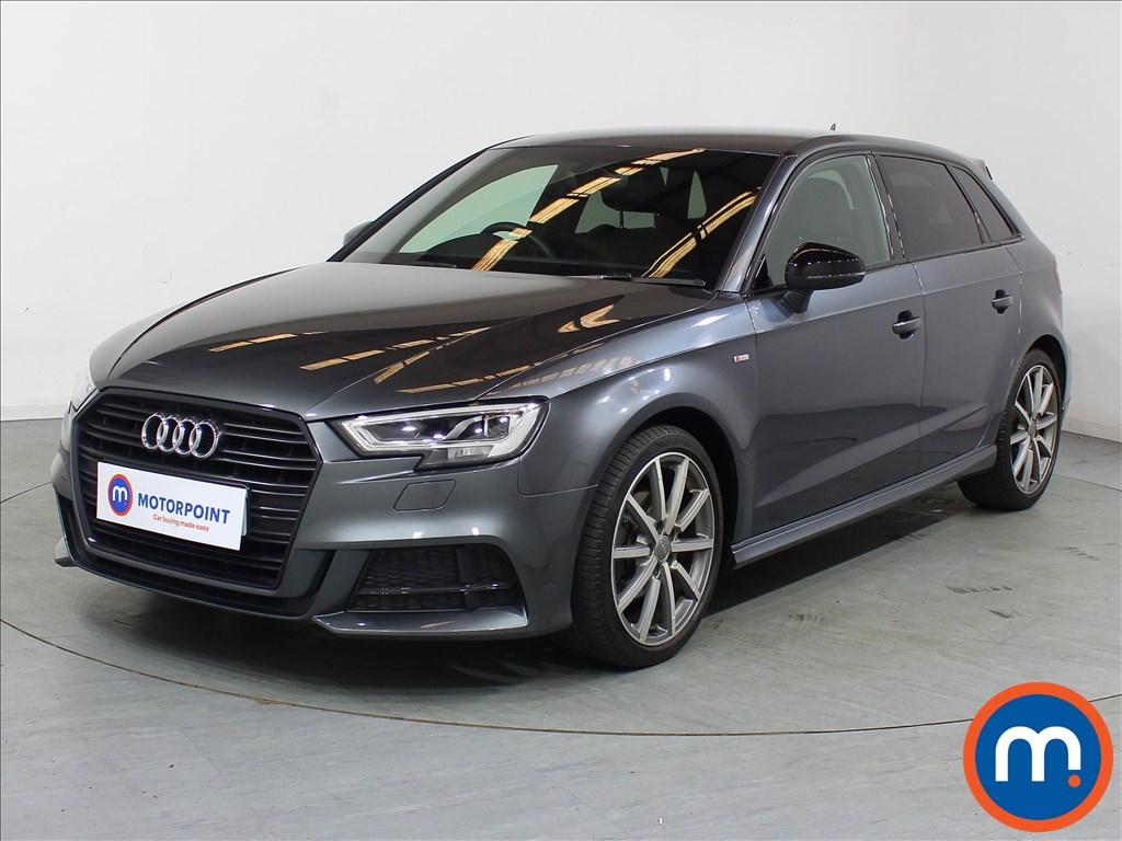 Audi A3 Black Edition - Stock Number 1099049 Passenger side front corner