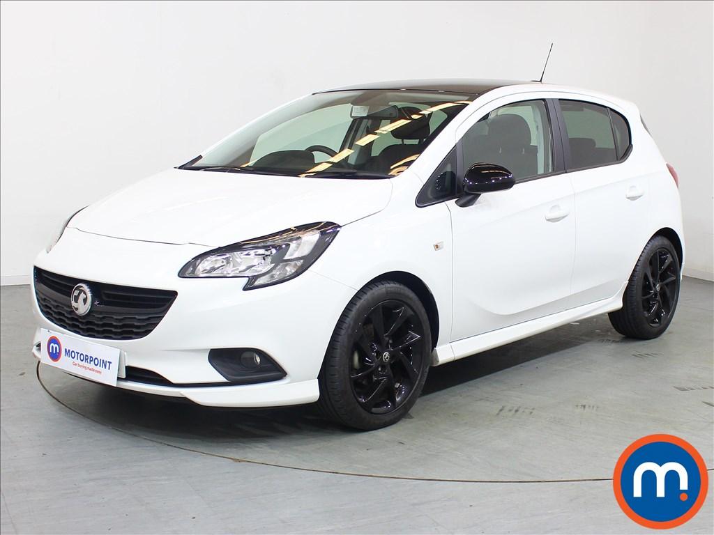 Vauxhall Corsa SRi Vx-line Nav Black - Stock Number 1095986 Passenger side front corner