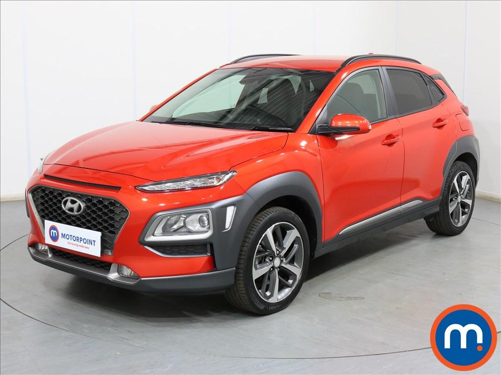 Hyundai Kona Premium - Stock Number 1100455 Passenger side front corner