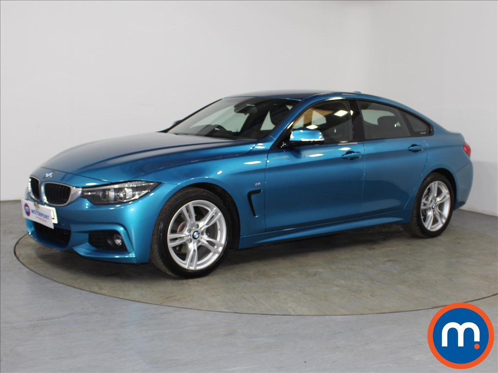 BMW 4 Series M Sport - Stock Number 1102950 Passenger side front corner