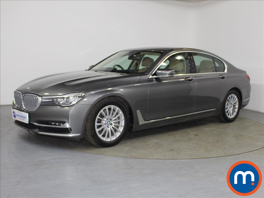 BMW 7 Series Exclusive - Stock Number 1082717 Passenger side front corner