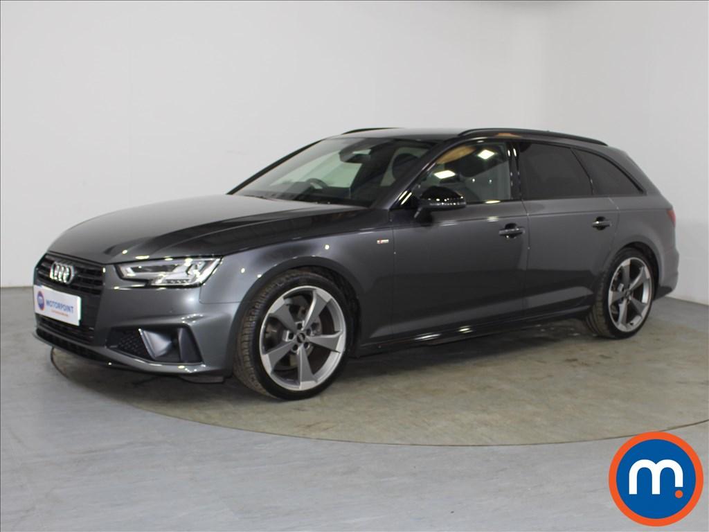 Audi A4 Black Edition - Stock Number 1100842 Passenger side front corner