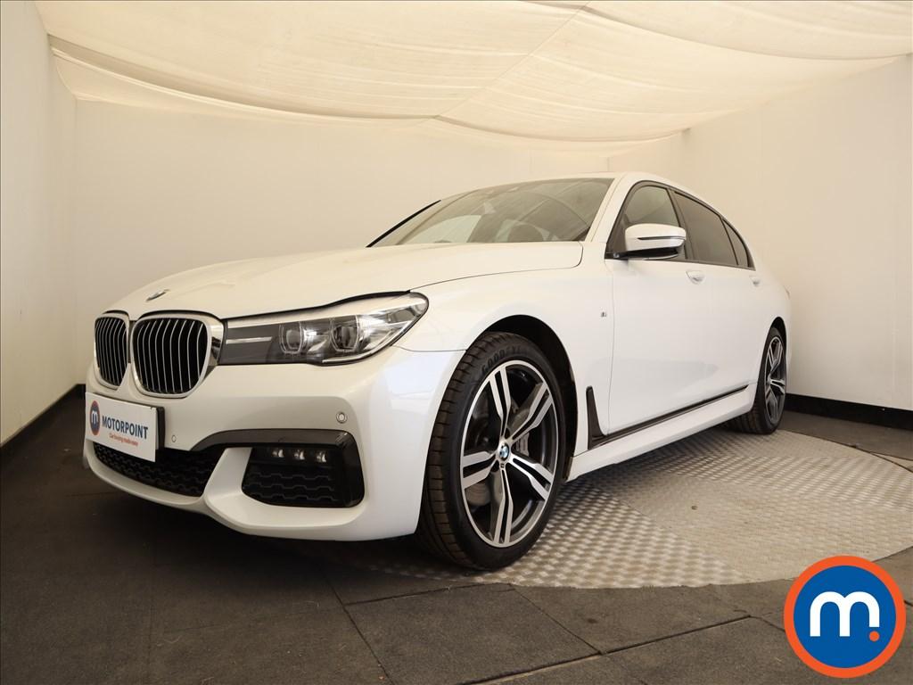 BMW 7 Series M Sport - Stock Number 1093164 Passenger side front corner