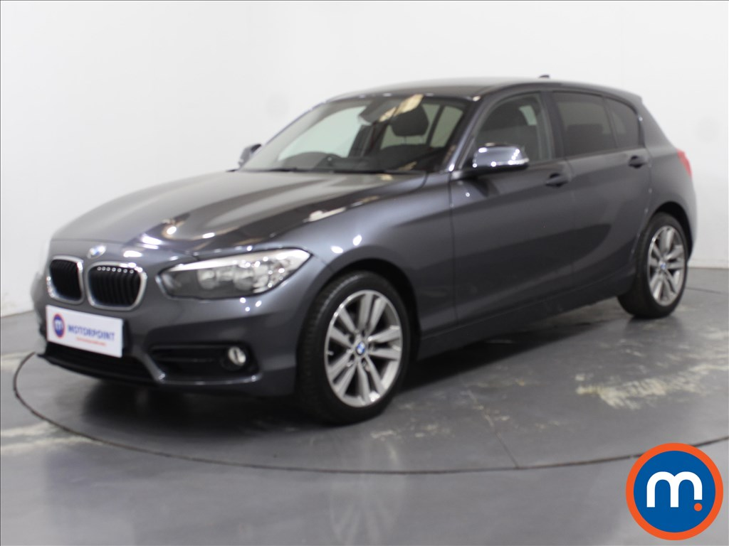 BMW 1 Series Sport - Stock Number 1097965 Passenger side front corner