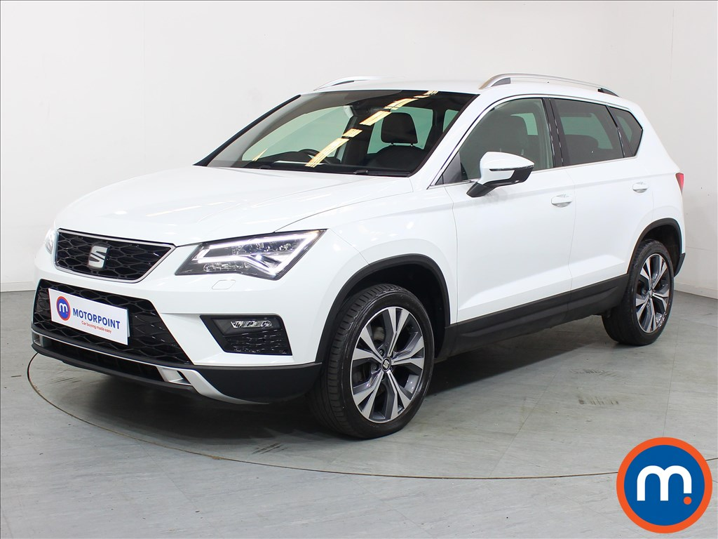 Seat Ateca Xcellence - Stock Number 1100055 Passenger side front corner
