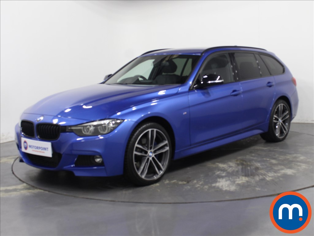 BMW 3 Series M Sport Shadow Edition - Stock Number 1096558 Passenger side front corner