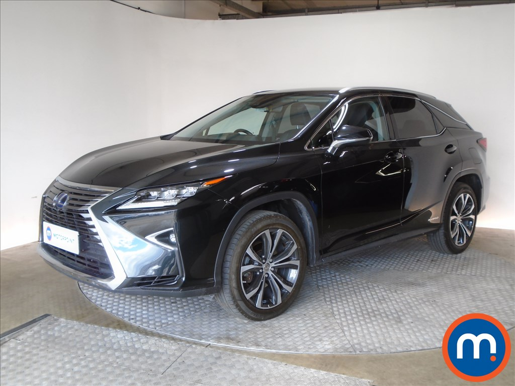Lexus RX Luxury - Stock Number 1099385 Passenger side front corner