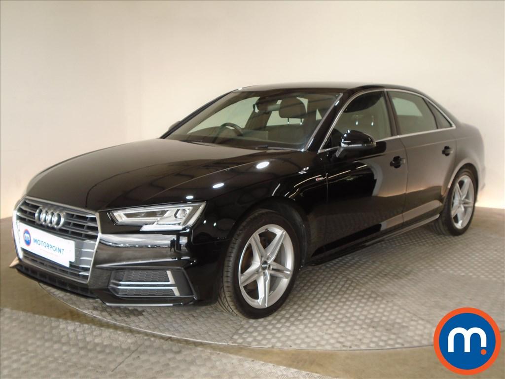 Audi A4 S Line - Stock Number 1094224 Passenger side front corner