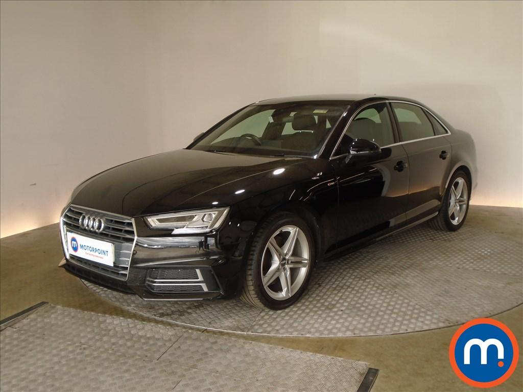 Audi A4 S Line - Stock Number 1088199 Passenger side front corner