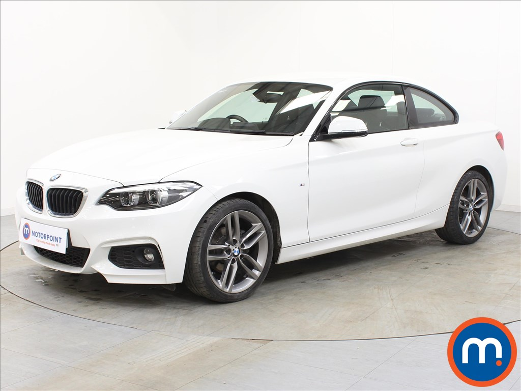 BMW 2 Series M Sport - Stock Number 1101002 Passenger side front corner