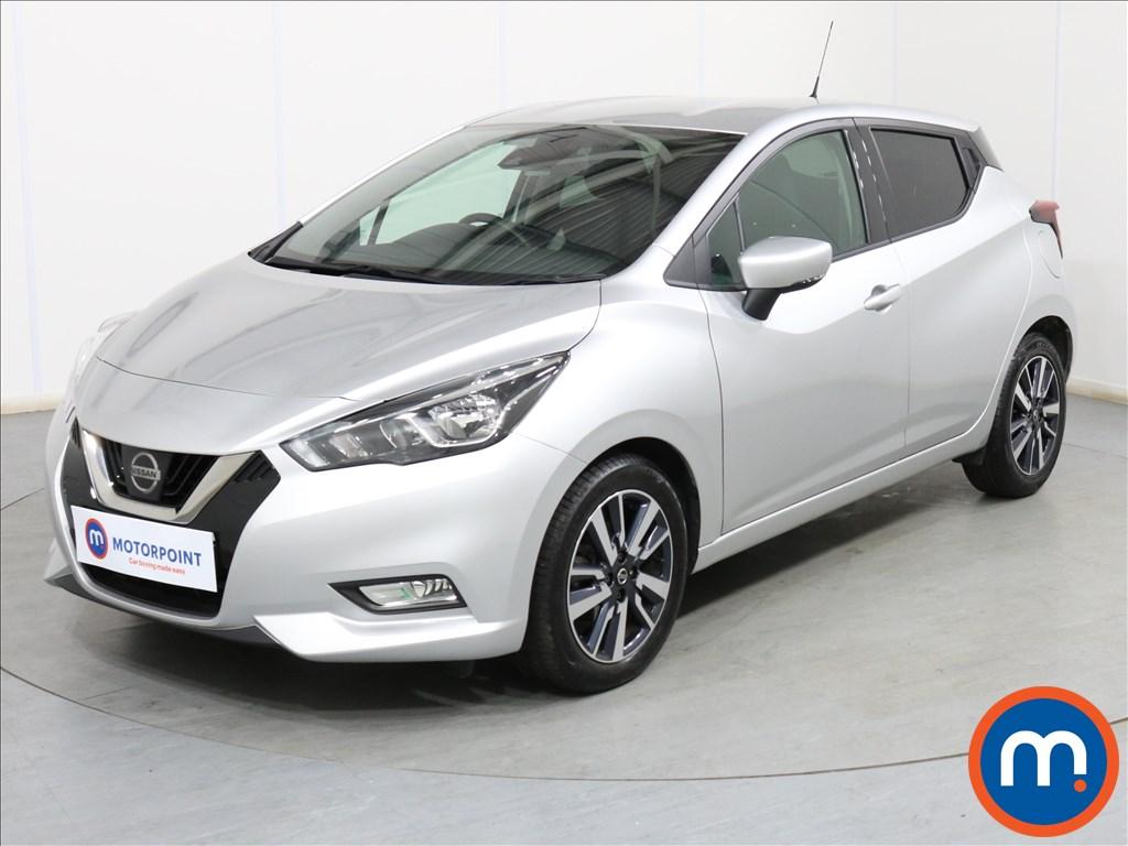 Nissan Micra N-Connecta - Stock Number 1099893 Passenger side front corner