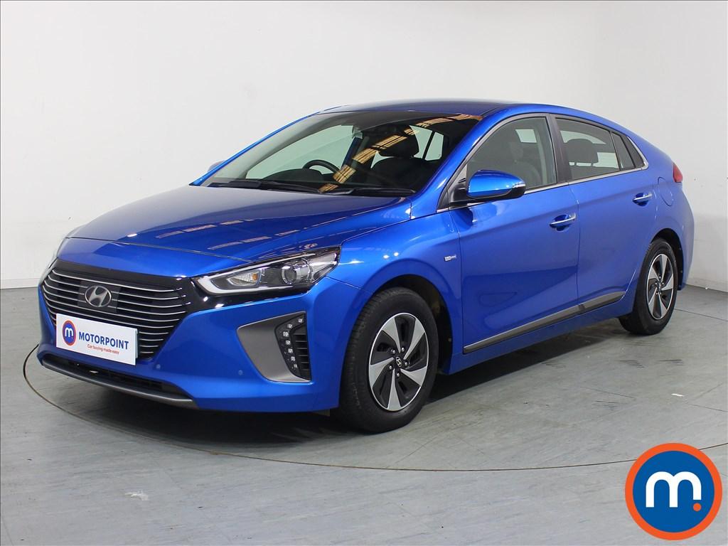 Hyundai Ioniq Premium SE - Stock Number 1080267 Passenger side front corner