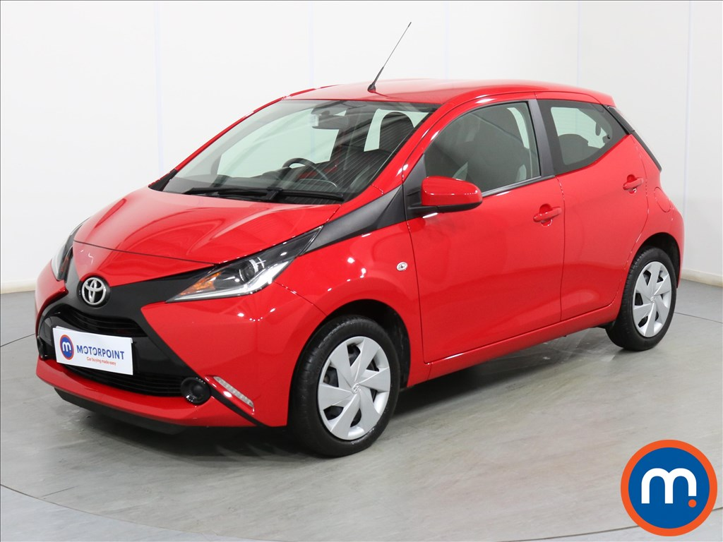 Toyota Aygo X-Play - Stock Number 1107131 Passenger side front corner