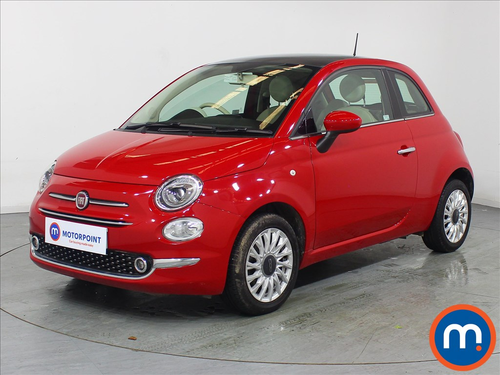 Fiat 500 Lounge - Stock Number 1104584 Passenger side front corner