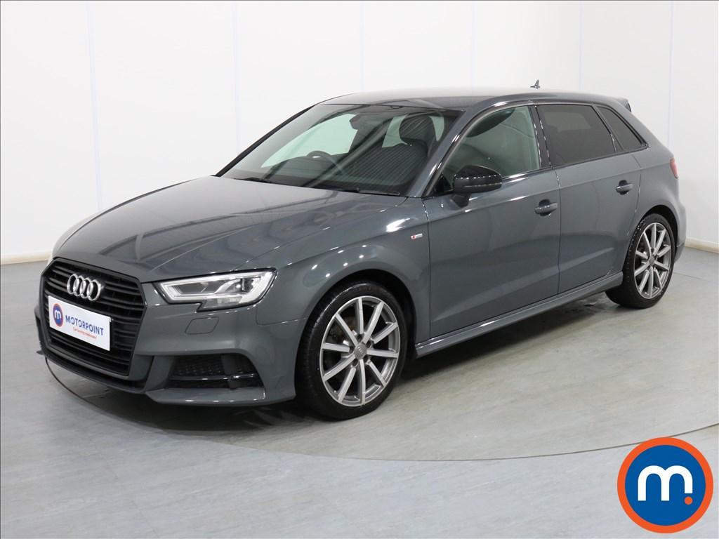 Audi A3 Black Edition - Stock Number 1103016 Passenger side front corner