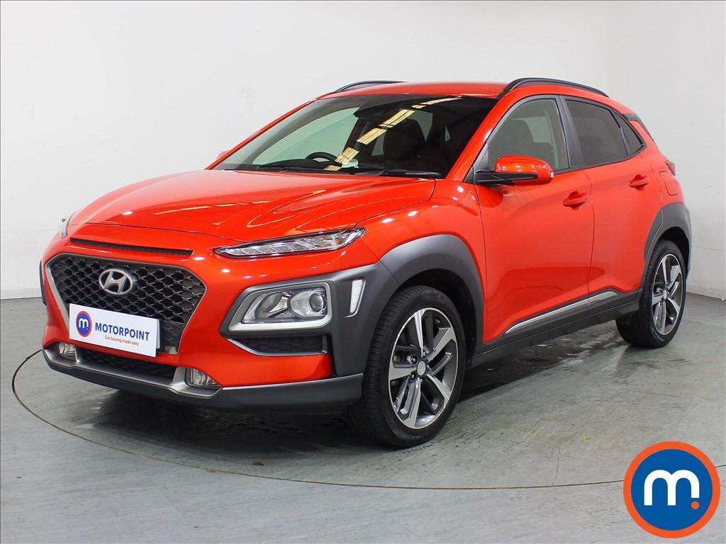 Hyundai Kona Premium - Stock Number 1096586 Passenger side front corner