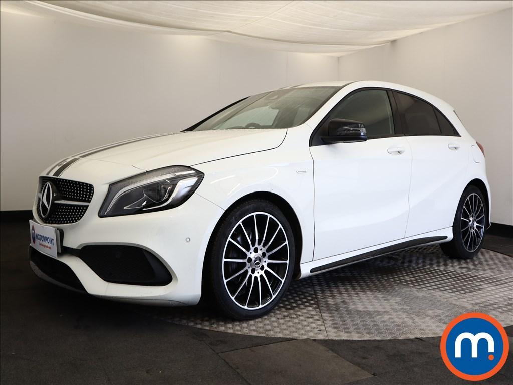 Mercedes-Benz A Class WhiteArt - Stock Number 1094623 Passenger side front corner