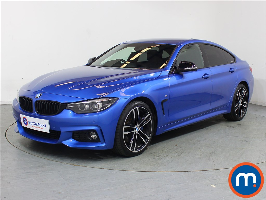 BMW 4 Series M Sport - Stock Number 1106021 Passenger side front corner