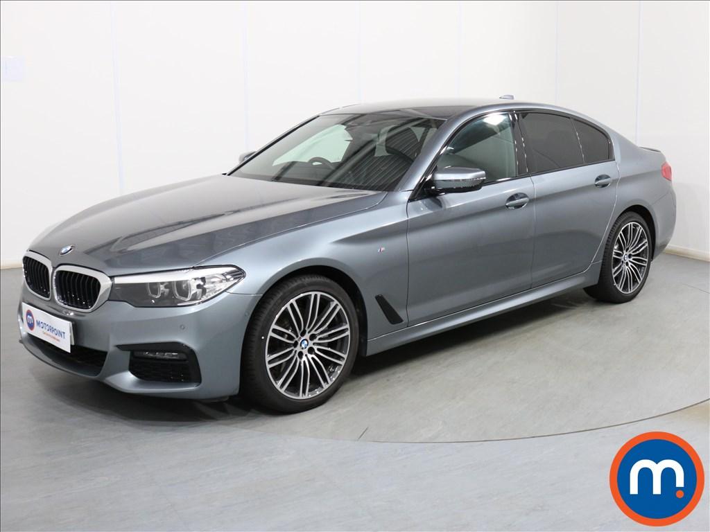BMW 5 Series M Sport - Stock Number 1102456 Passenger side front corner