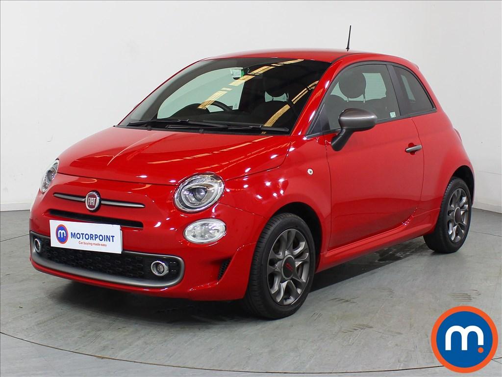 Fiat 500 S - Stock Number 1105774 Passenger side front corner