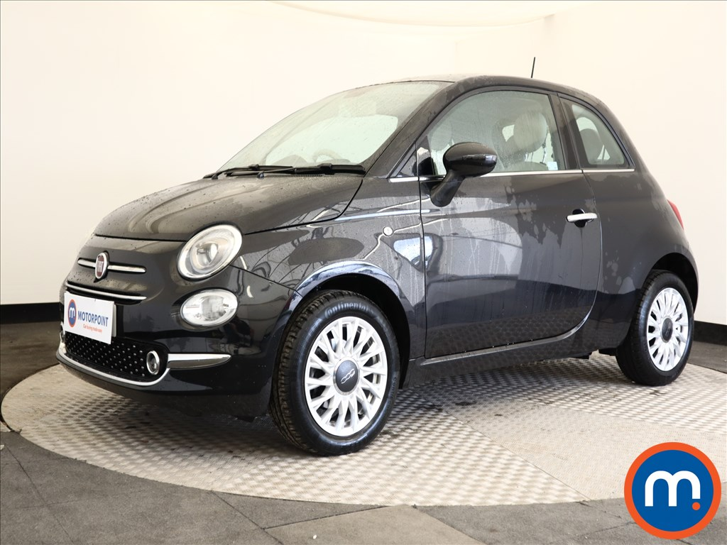 Fiat 500 Lounge - Stock Number 1106424 Passenger side front corner