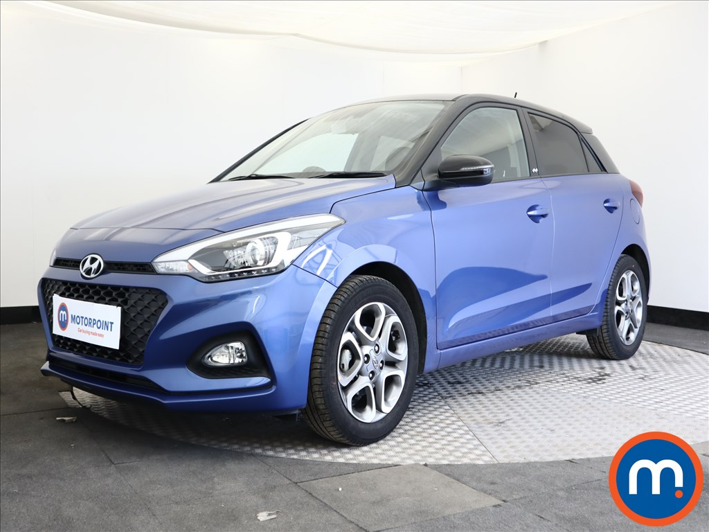 Hyundai I20 Play - Stock Number 1105500 Passenger side front corner