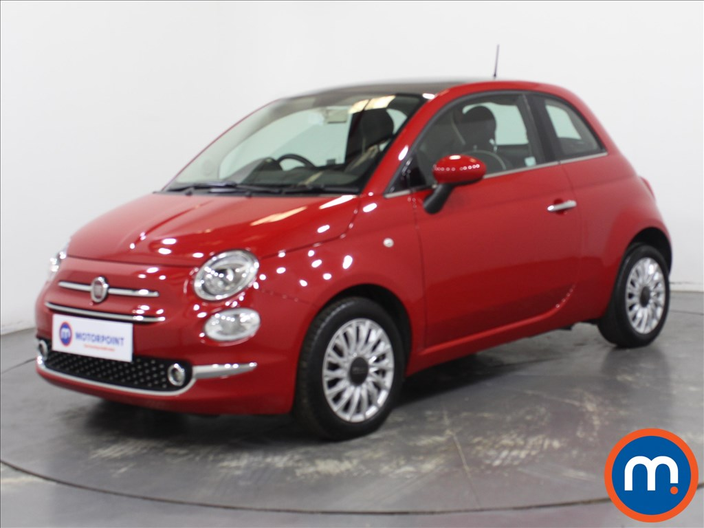 Fiat 500 Lounge - Stock Number 1108877 Passenger side front corner