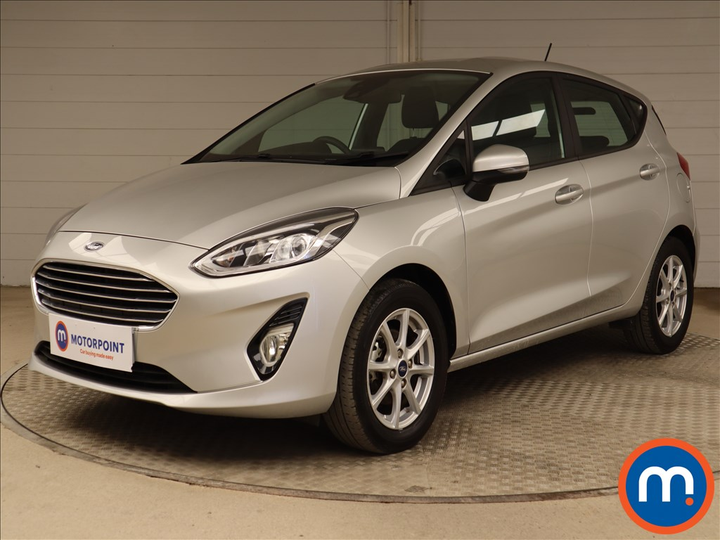 Ford Fiesta Zetec - Stock Number 1096472 Passenger side front corner