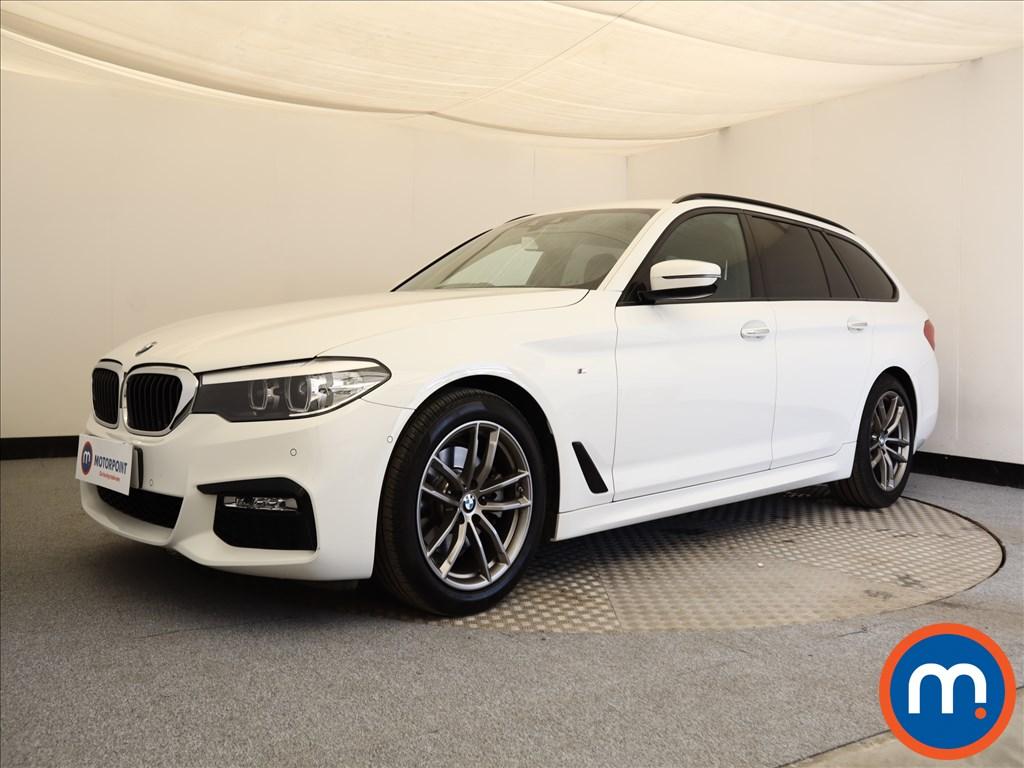 BMW 5 Series M Sport - Stock Number 1107139 Passenger side front corner
