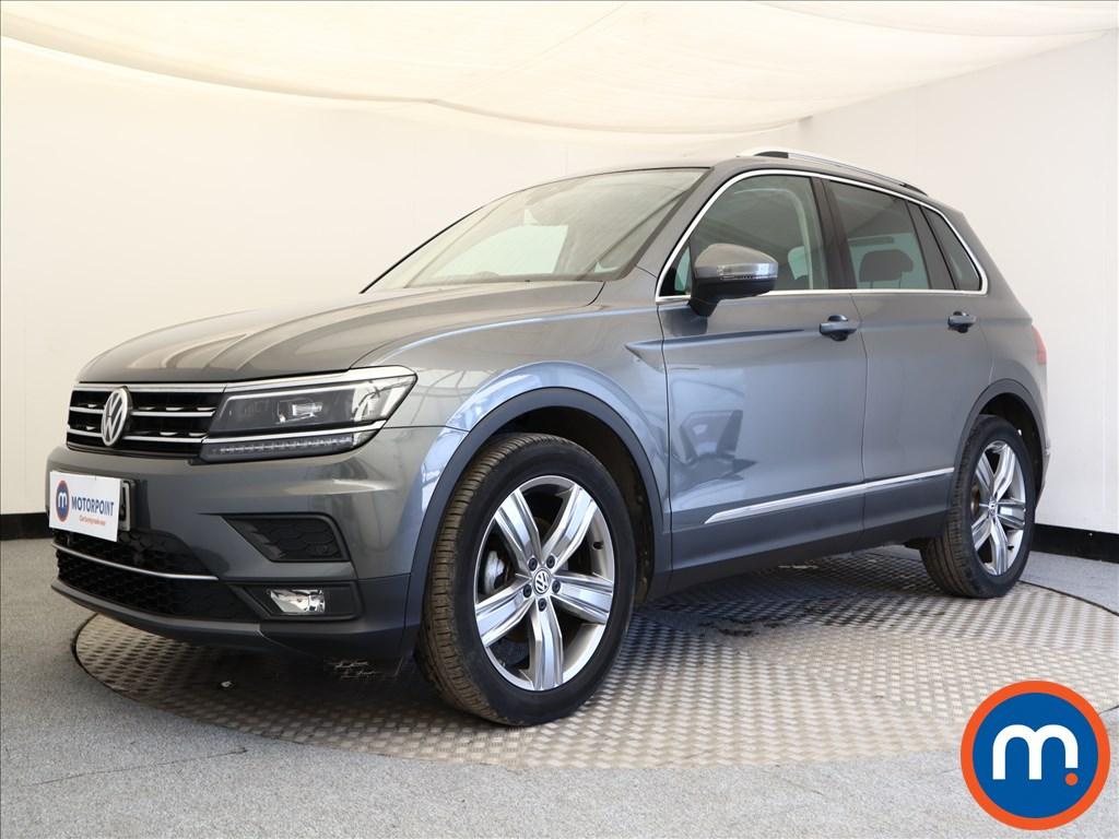 Volkswagen Tiguan SEL - Stock Number 1106883 Passenger side front corner