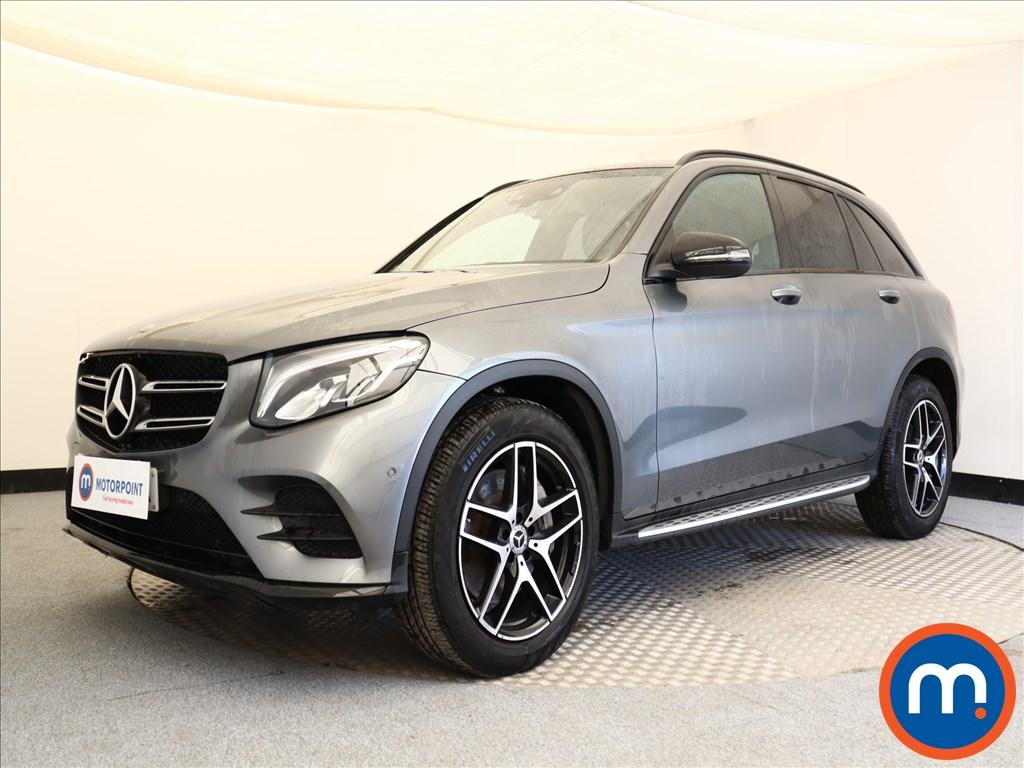 Mercedes-Benz GLC Night Edition - Stock Number 1099131 Passenger side front corner