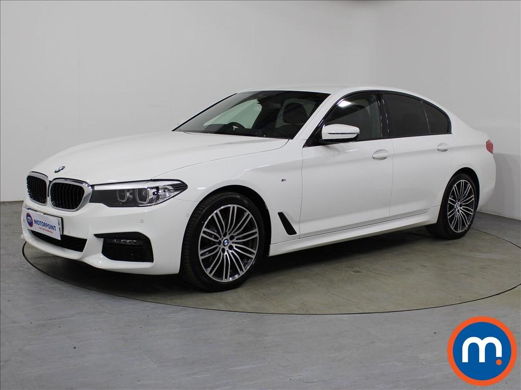 BMW 5 Series M Sport - Stock Number 1106857 Passenger side front corner