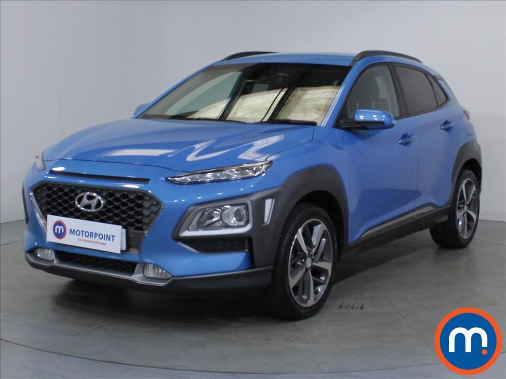 Hyundai Kona Premium - Stock Number 1098657 Passenger side front corner