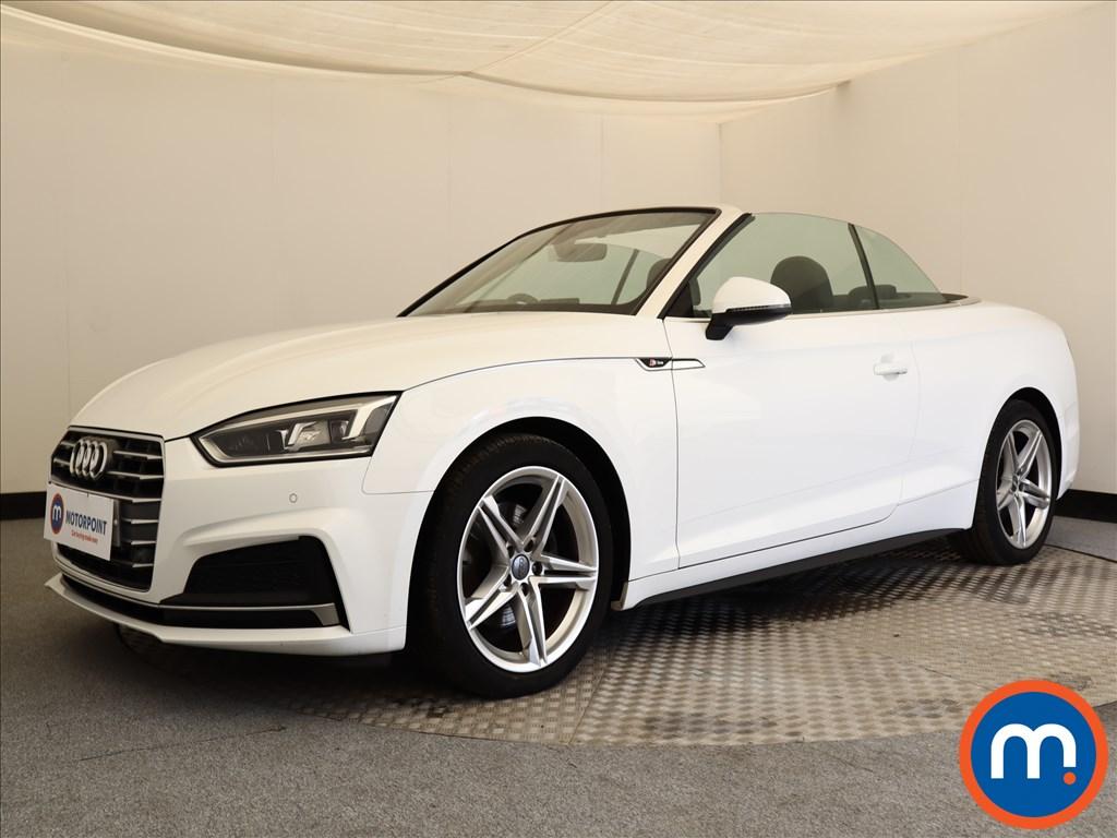 Audi A5 S Line - Stock Number 1109128 Passenger side front corner