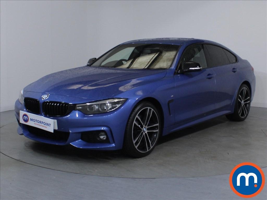 BMW 4 Series M Sport - Stock Number 1106005 Passenger side front corner