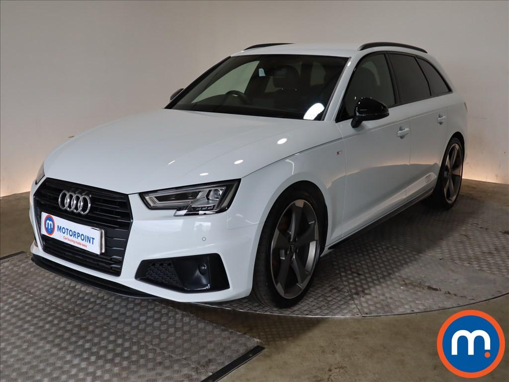 Audi A4 Black Edition - Stock Number 1109575 Passenger side front corner